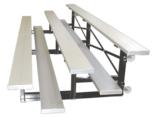 Tip n Roll Portable Aluminum Bleachers